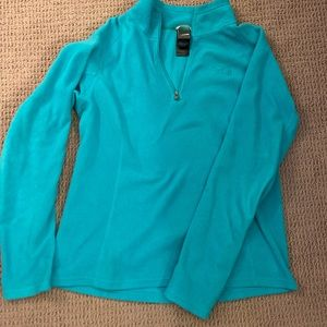 The Northface, 1/4 Zip up, Fleece, size M